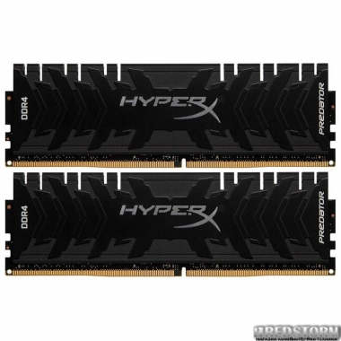 Оперативная память HyperX DDR4-3333 32768MB PC4-26660 (Kit of 2x16384) Predator (HX433C16PB3K2/32)