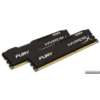 Память Kingston DDR4-2133 8192MB PC4-17064 (Kit of 2x4096) HyperX FURY (HX421C14FBK2/8)