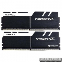 Оперативная память G.Skill DDR4-3200 16384MB PC4-25600 (Kit of 2x8192) Trident Z White (F4-3200C16D-16GTZKW)