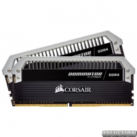Оперативная память Corsair DDR4-3200 32768MB PC4-25600 (Kit of 2x16384) Dominator Platinum Black (CMD32GX4M2C3200C16)