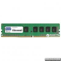 Оперативная память Goodram DDR4-2400 4096MB PC4-19200 (GR2400D464L17S/4G)