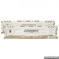 Оперативная память Crucial DDR4-2666 32764MB PC4-21300 (Kit of 2x16384) Ballistix Sport LT White (BLS2C16G4D26BFSC)