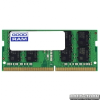 Оперативная память Goodram SODIMM DDR4-2666 4096MB PC4-21300 (GR2666S464L19S/4G)