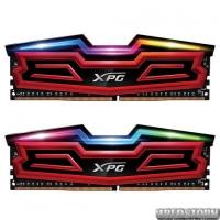 Модуль памяти для компьютера DDR4 16GB 2x8GB 2400 MHz XPG Spectrix D40 Red ADATA (AX4U240038G16-DRS)
