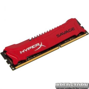 Память Kingston DDR3-2400 8192MB PC3-19200 HyperX Savage (HX324C11SR/8)