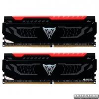 Оперативная память Patriot DDR4-2666 16384MB PC4-21300 (Kit of 2x8192) Viper LED Series Red (PVLR416G266C5K)