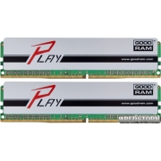 Goodram DDR4-2400 16384MB PC4-19200 (Kit of 2x8192) Play Silver (GYS2400D464L15S/16GDC)