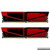Модуль памяти DDR4 2x8GB/2400 Team T-Force Vulcan Red (TLRED416G2400HC14DC01)