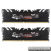 Модуль памяти G.Skill DDR4 16GB (2x8GB) 2133 MHz Flare X (F4-2133C15D-16GFX)