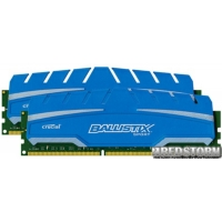Crucial DDR3-1866 16384MB PC3-14900 (Kit of 2x8192) Ballistix Sport XT (BLS2C8G3D18ADS3CEU)