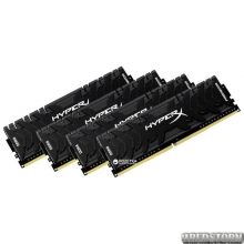 Kingston DDR4-3333 32764MB PC4-26660 (Kit of 4x8192) HyperX Predator (HX433C16PB3K4/32)