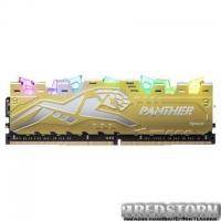 Модуль памяти для компьютера DDR4 8GB 3200 MHz Panther Rage RGB Silver-Golden Apacer (EK.08G21.GJM)
