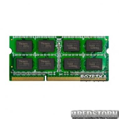 Оперативная память Team SODIMM DDR3-1600 4096MB PC3-12800 Elite (TED34G1600C11-S01) (CV220854)