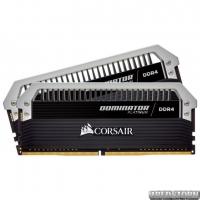 Оперативная память Corsair DDR4-3000 32768MB PC4-24000 (Kit of 2x16384) Dominator Platinum Black (CMD32GX4M2B3000C15)