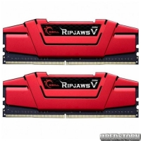 Модуль памяти для компьютера DDR4 16GB 2x8GB 2400 MHz RipjawsV Red G.Skill (F4-2400C17D-16GVR)