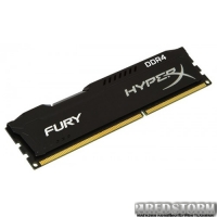 Kingston DDR4-2400 8192MB PC4-19200 HyperX Fury Black (HX424C15FB2/8)