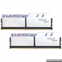 Оперативная память G.Skill DDR4-3000 16384MB PC4-24000 (Kit of 2x8192) Trident Z Royal Silver (F4-3000C16D-16GTRS)