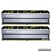 Оперативная память G.Skill DDR4-3000 16384MB PC4-24000 (Kit of 2x8192) Sniper X Digital Camo (F4-3000C16D-16GSXKB)