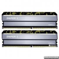Оперативная память G.Skill DDR4-3000 16384MB PC4-24000 (Kit of 2x8192) Sniper X Digital Camo (F4-3000C16D-16GSXKB)