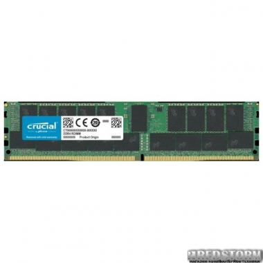 Оперативная память Crucial DDR4-2933 32764MB PC4-23400 ECC Registered (CT32G4RFD4293)