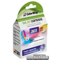 Картридж ColorWay Epson XP600/605/700 Magenta (CW-EPT2633)