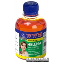 Чернила WWM Helena HP 200 мл Yellow (HU/Y)