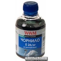 Чернила WWM E26 Epson Expression Premium XP-600/XP-605/XP-700 200 мл Black Pigment (E26/BP)