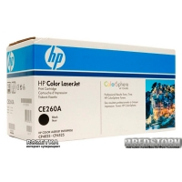 Картридж HP CE260A Black