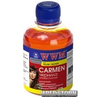 Чернила WWM Carmen Canon 200 мл Yellow (CU/Y)