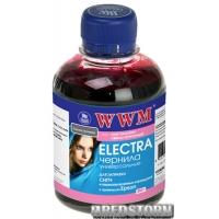 Чернила WWM Electra Epson 200 мл Light Magenta (EU/LM)