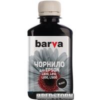 Чернила Barva для фабрик печати Epson L800/L810/L850/L1800 (T6731) 180 г Black (L800-409)