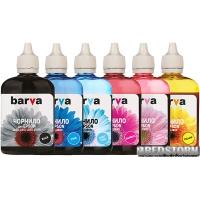 Комплект чернил Barva для фабрик печати Epson L800/L810/L850/L1800 (T6731) 6х90 г B/C/M/Y/LC/LM (L800-090-MP)