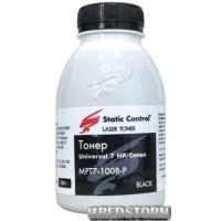 Тонер Static Control универсальный 7 HP/Canon 100 г (MPT7-100B-P)