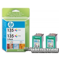 Картридж HP No.135 3-Color 2-pack (CB332HE)