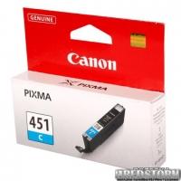 Картридж Canon CLI-451С Cyan (6524B001)