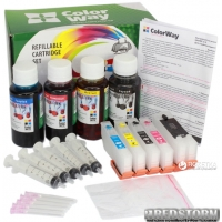 Комплект картриджей ColorWay Epson XP600 (5х100) (XP600RC-5.1)