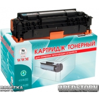 Картридж Laser WWM HP 304A, CC531A Cyan (LC41CN)