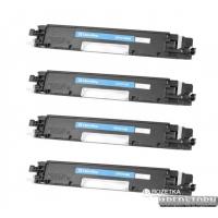 Комплект картриджей ColorWay HP (СE310A/СE311A/СE312A/СE313A) BK/C/M/Y (CW-H310MSET)