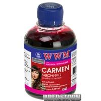 Чернила WWM Carmen Canon 200 мл Magenta (CU/M)