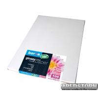 Бумага Barva Economy Series Глянцевая A4 100 листов 200 г/м2 (IP-CE200-138)