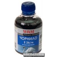 Чернила WWM E26 Epson Expression Premium XP-600/XP-605/XP-700 200 мл Photo Black (E26/PB)