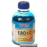 Чернила WWM E80 Epson L800 200 мл Light Cyan (E80/LC)
