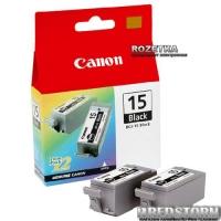 Картридж Canon BCI-15Bk (8190A002)