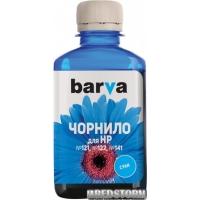 Чернила Barva HP CB337/CC643/CH562 180 г Cyan (H141-178)