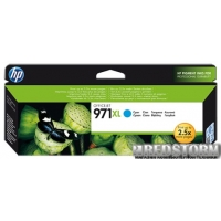 Картридж HP 971XL Officejet Pro X451dw (CN626AE) Cyan