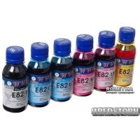 Набор чернил WWM E82 для Epson 6x100 мл B/C/M/Y/LC/LM (E82SET-2)
