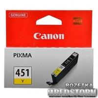 Картридж Canon CLI-451Y Yellow (6526B001)
