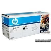 Картридж HP Color LaserJet (CE740A) Black