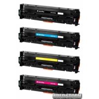 Комплект картриджей ColorWay HP (СE410A/СE411A/СE412A/СE413A) BK/C/M/Y (CW-H410MSET)