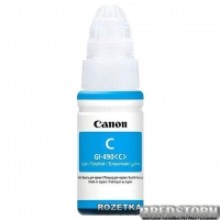 Контейнер Canon GI-490 Pixma G1400/G2400/G3400 70 мл Cyan (0664C001)
